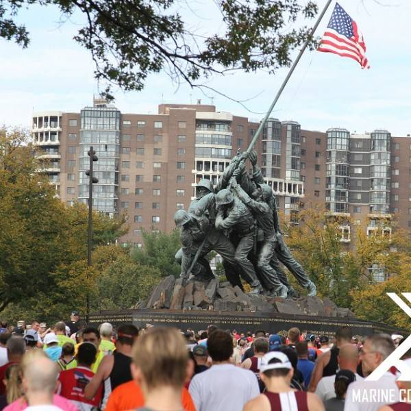 Marine Corps Marathon, Washington