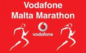 Vodafone Malta Marathon Logo