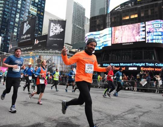 New York Half Marathon Runner