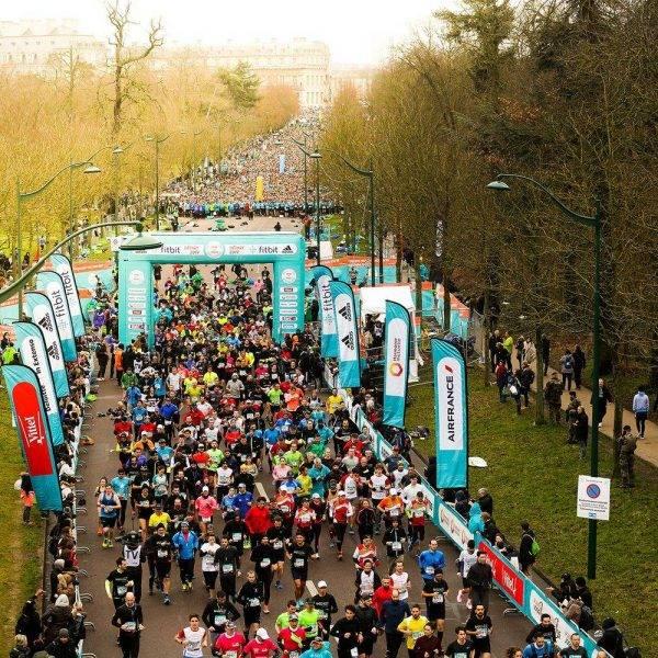 Semi-marathon de Paris départ 2017 image 2