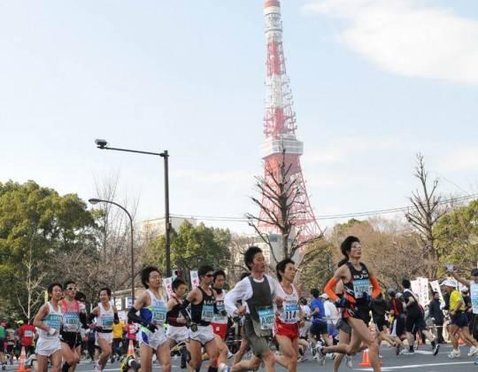 Running the Tokyo Marathon