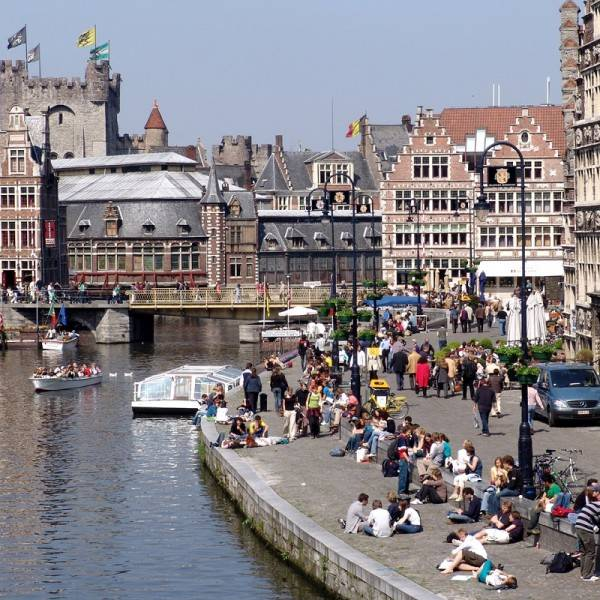 Town of Gent Belgium