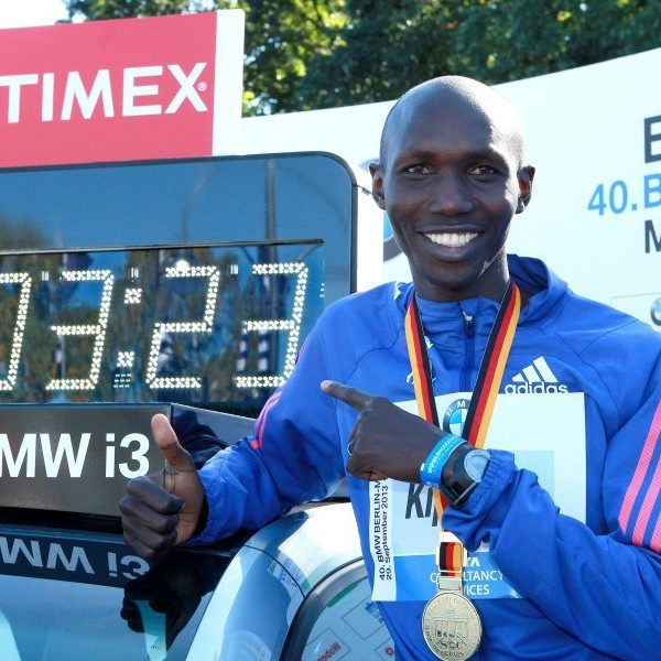 Wilson Kipsang Berlin Marathon