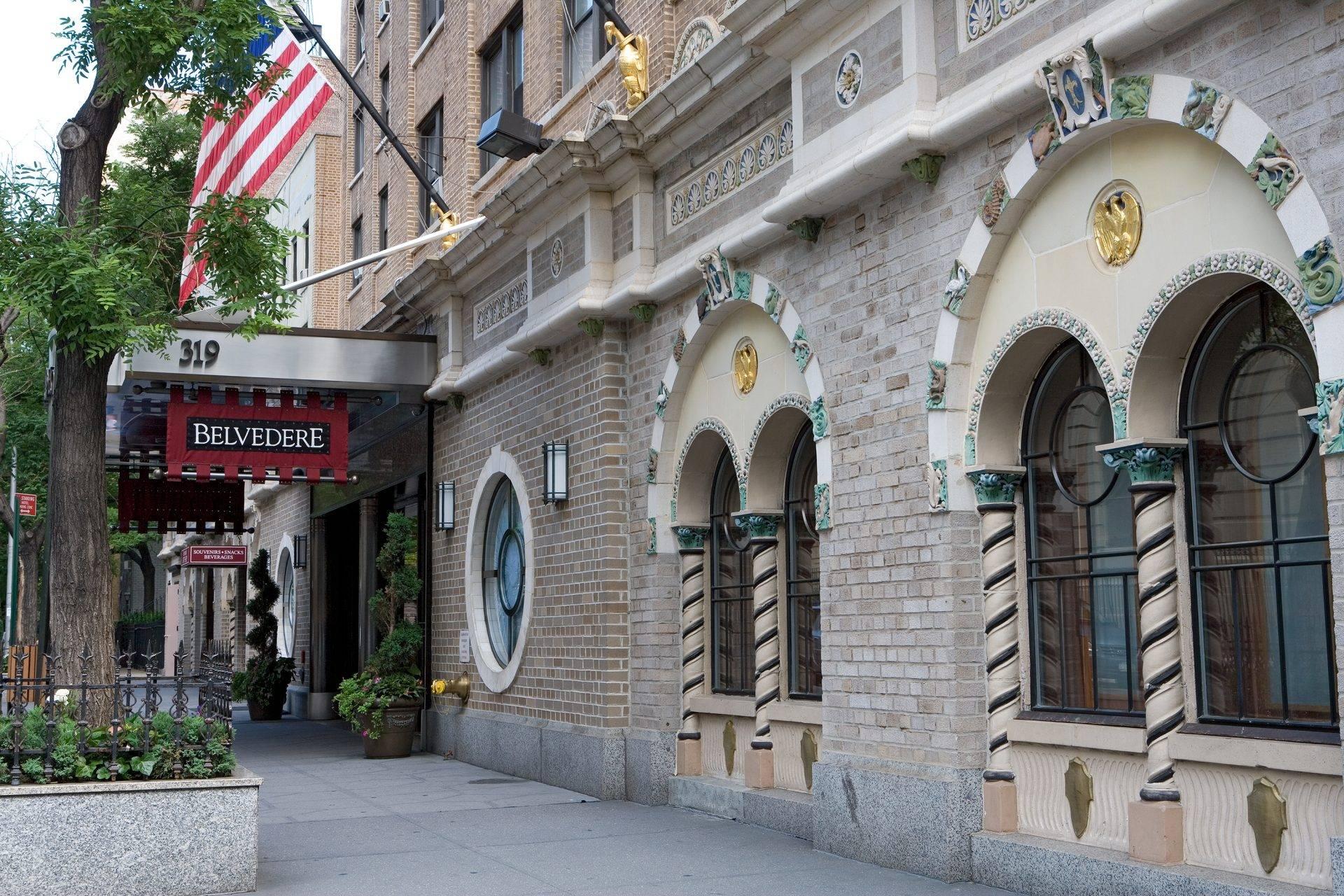 Belvedere Manhattan Hotel Exterior