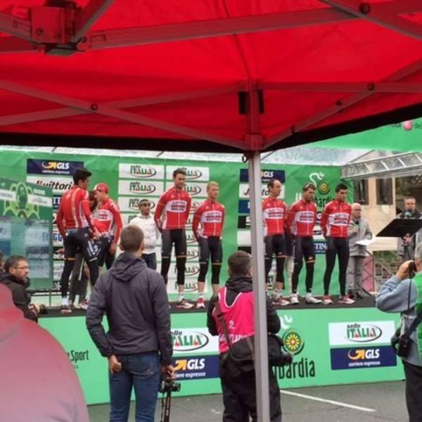 Giro Lombardia Podium