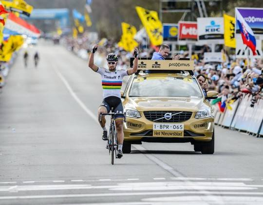 Tour of Flanders Finish