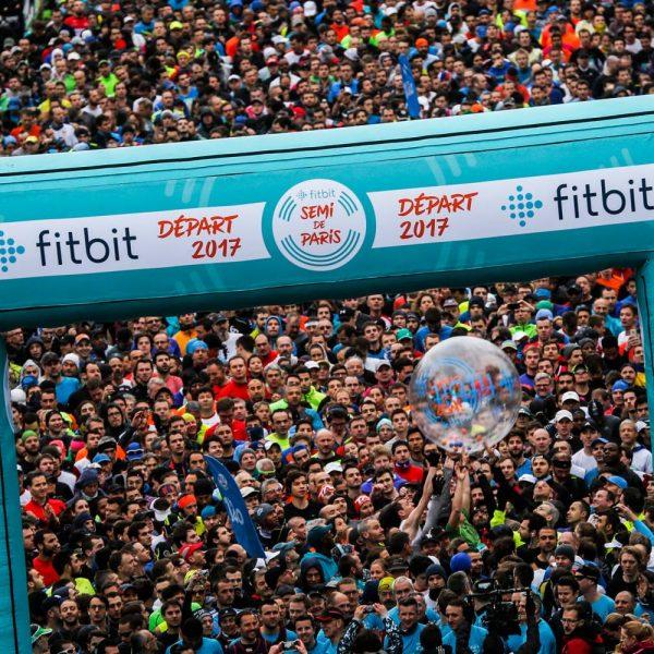 Départ semi-marathon de Paris 2017