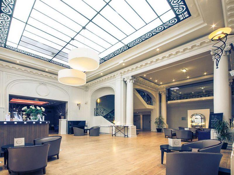 Mercure Lille Roubaix Grand Hotel hall d'entrée